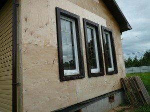 Фото наружной отделки каркасного дома, karkas.pro