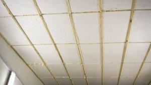На фото - утепление потолка каркасного дома пенополистиролом, profibrus.ru