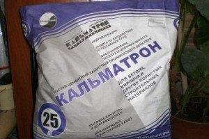 На фото - герметик Kalmatron для заделки трещин в бетоне, novosibirsk.zement.ru
