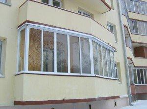 Фото алюминиевых рам для холодного остекления балкона, hausokna.ru
