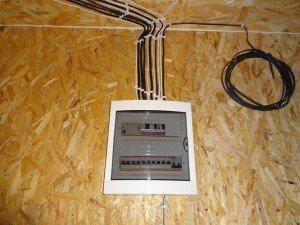 Фото электропроводки в каркасном доме по канадской технологии, forumhouse.ru