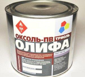 Фото олифы Оксоль ГОСТ 190–78, recn.ru