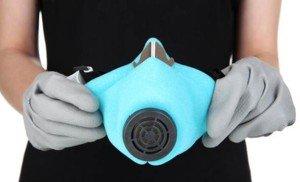 Фото респиратора и перчаток для работы с олифой Оксоль, diy.ru