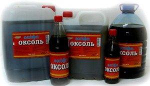 На фото - комбинированная олифа Оксоль, blesk-pk.com.ua