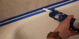 Герметик для ванной – плесень не пройдет