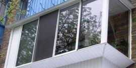 Остекление балконов с выносом – как сделать своими руками?