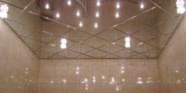 Фото - Зеркальный потолок в ванной – тонкости монтажа