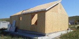 Каркасные дома из сип-панелей – новые технологии в строительстве