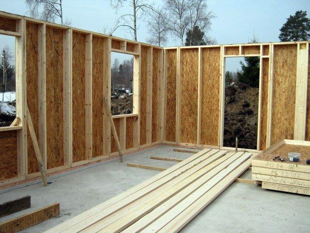 Строительство дачного щитового дома своими руками