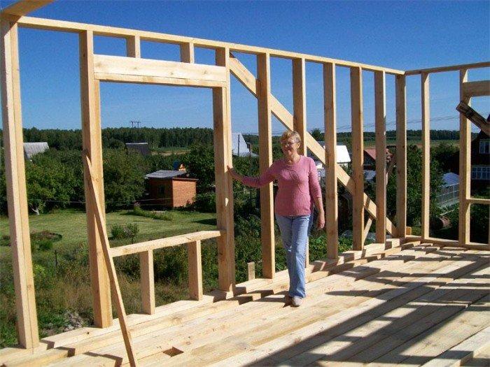 Строительство одноэтажного дома своими руками фото