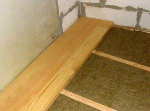 Фото отделки пола балкона, garant-plast.dp.ua