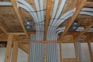 Фото электропроводки в каркасном доме, elektrikdom.com