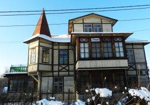 Фото каркасного дома Фахверк, domwerk.ru