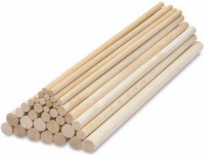 На фото - деревянные нагели для строительства каркасного дома, domobani.ru