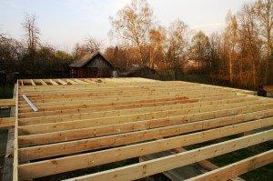 Фото укладки лагов для пола каркасного дома, shkolapola.ru
