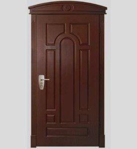 На фото - пуленепробиваемая стальная входная дверь, golden-key.dp.ua