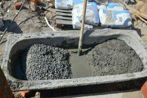 Фото замешивания бетона, 101ohibka.ru