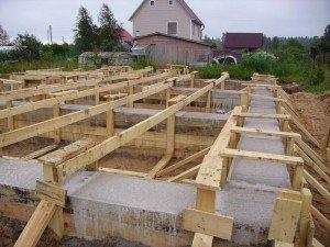 Фото расчета и строительства ленточного фундамента, fundament-doma.dp.ua