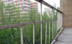 Фото демонтажа старого парапета лоджии, vetonika.ru