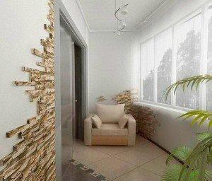 На фото - теплое остекление балкона, veka-spb.ru
