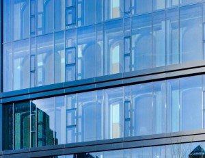 На фото - фальш-остекление здания, perila68.ru