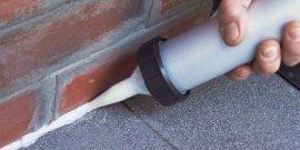 Акриловый герметик – спасение от щелей и трещин