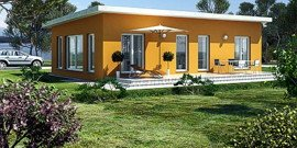 Каркасный дом с плоской крышей – особенности устройства