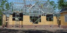 Фото - Каркасные дома из металлопрофиля – быстрая сборка, легкий вес