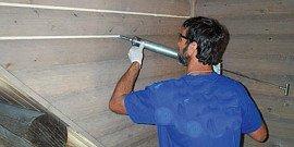 Герметик для деревянного дома – выбираем лучший и используем эффективно