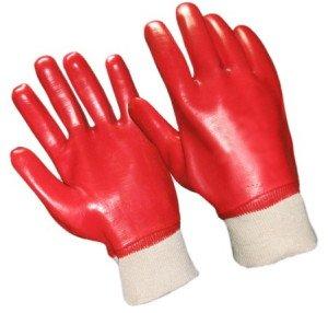 На фото - защитные перчатки для работы с герметиком, office.am