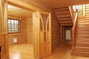 Фото дома с отделкой из дерева, mastera-fasada.ru