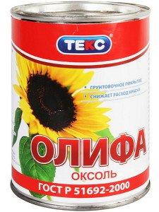 Фото олифы Оксоль, teks.ru