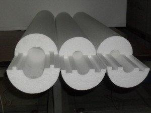 Фото скорлуп для утепления водопроводных труб, centrgeologiya.ru