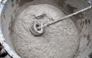 Фото замеса бетонного раствора, baurum.ru