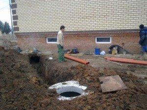 Фото монтажа канализации в загородном доме, ablamirat.ru