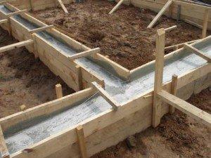 Расчет стройматериалов для фундамента и блочных стен