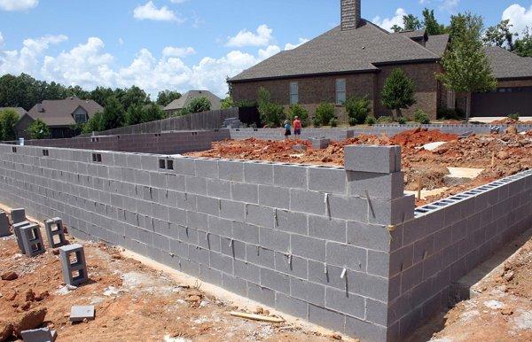 Строительство дома из отсевоблоков своими руками