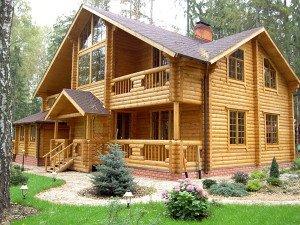 Фото деревянного дома, stroitel73.ru