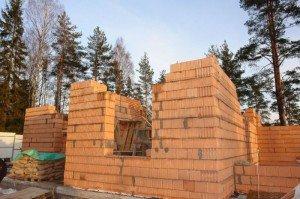 Фото строительства дома из кирпича, interknigi.net
