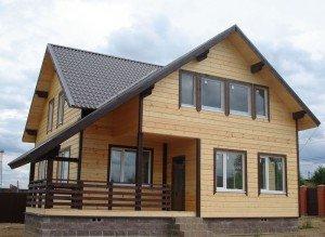 Фото каркасного дома, all-for-remont.ru