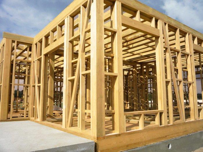 Строительство каркасных домов  технология
