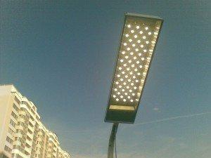 Фото светодиодного фонаря для уличного освещения, emt-ural.ru