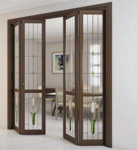Фото дизайна складных дверей, building-catalog.ru
