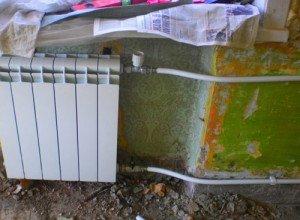 Замена отопительных радиаторов