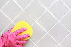 Фото очистки швов плитки от грязи, 1poplitke.ru