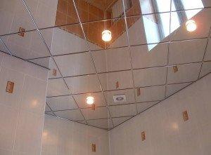 Фото зеркального потолка, potolokspec.ru
