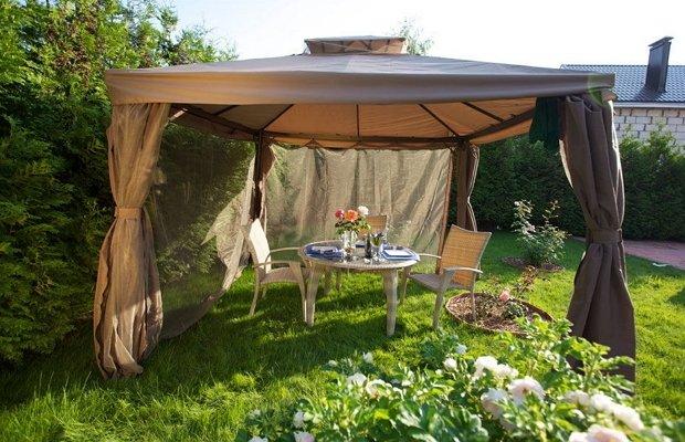 Где лучше поставить шатер, и как это сделать правильно?