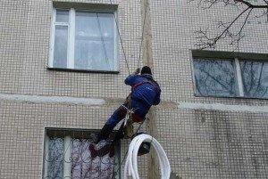На фото - восстановление межпанельных швов, teplo-fasad.ucoz.ru