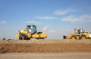 Фото обустройства насыпей карьерным песком, blog.specstroy.ru