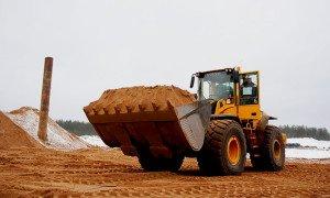 Фото покупки карьерного песка, postroika.com.ua